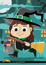 9e77ce1696ccb5d6167d9a9b0071eddc-halloween-cartoon-girl-witch-costume